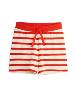 Stripe shorts RED
