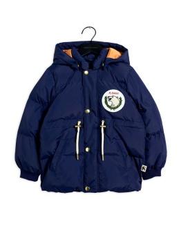 Polar bear patch puffer jacket navy - Chapter 1