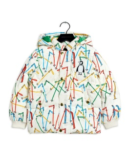 Skis puffer jacket offwhite - Chapter 3