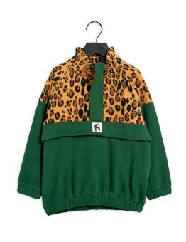 Fleece zip pullover green - Chapter 3