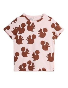 Squirrel aop ss tee Pink - Chapter 2