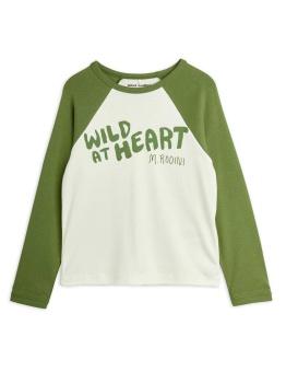 Wild at heart raglan ls tee Green - Chapter 2