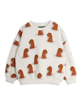 Walrus aop sweatshirt Grey - Chapter 1