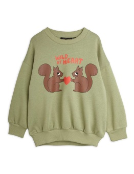 Wild at heart sweatshirt Green - Chapter 2