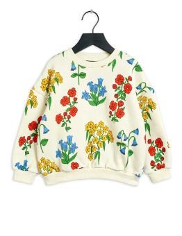 Snow flowers aop sweatshirt  Offwhite - Chapter 3