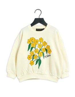 Alpine flowers emb sweatshirt white - Chapter 3