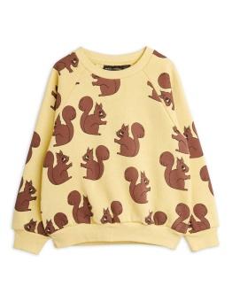 Squirrel aop sweatshirt  Yellow - Chapter 2