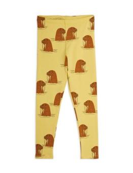Walrus aop leggings Yellow - Chapter 1