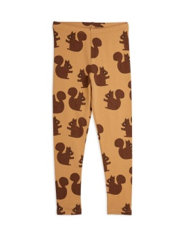 Squirrel aop leggings Brown - Chapter 2
