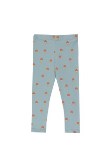 Mushrooms Leggings  Warm grey/Red
