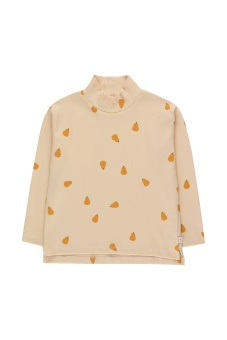 Pears Mockneck LS Tee Cream/Honey