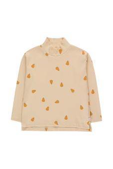 Pears Mockneck LS Tee Cream/Honey