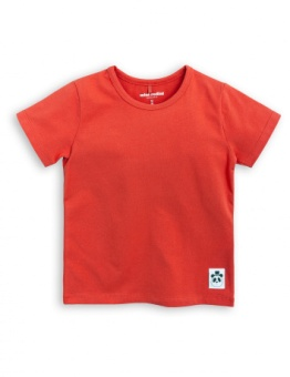 BASIC SS TEE/ red