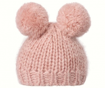Maileg - Best Friends, Knitted hat w. 2