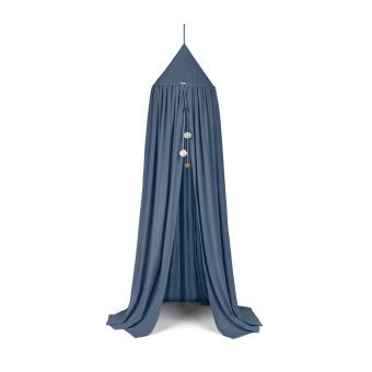 Sänghimmel blå