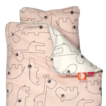 Bedlinen  junior  Contour, powder