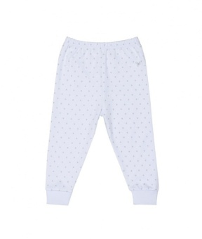 Saturday Pants babyblue/silver dot