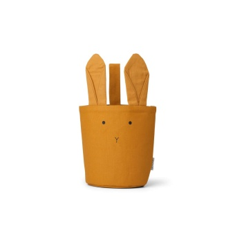 Förvaringskorg Kanin Mustard