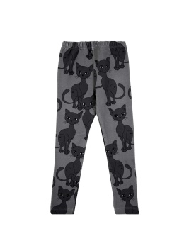 GREY CAT LEGGINS