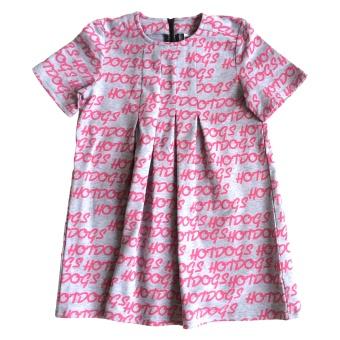 Dance Dress Hotdogs Hot Pink