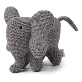 Vigga Knit Mini Teddy in Elephant grey