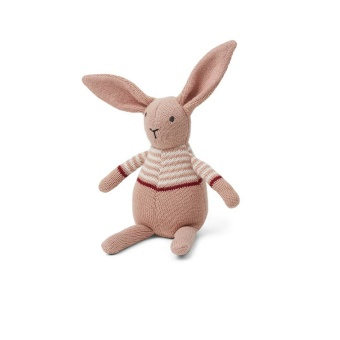 Vigga knit mini Teddy rabbit pink