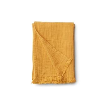 Magda muslin blanket yellow