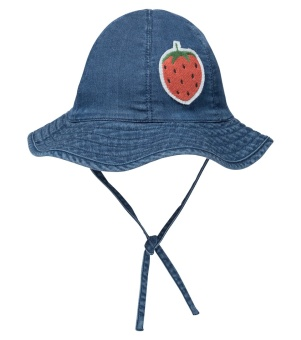 Denim strawberry sun hat Blue - Chapter 1