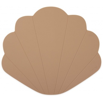 SILICONE PLACEMAT CLAM  BLUSH