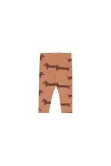 """IL BASSOTTO"" PANT tan/dark brown"