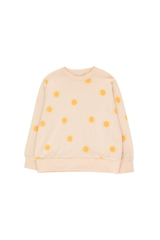 """SUN"" SWEATSHIRT light cream/yellow"