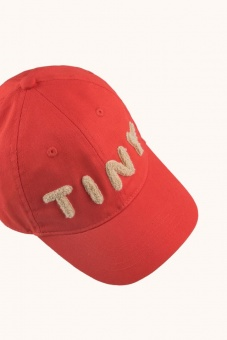 """TINY"" CAP *red/light cream*"