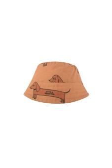 """IL BASSOTTO"" BUCKET HAT *tan/cinnamon*"