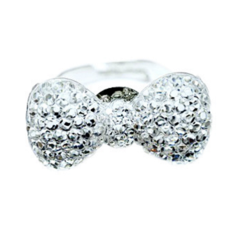 Ring - Strass - Rosett