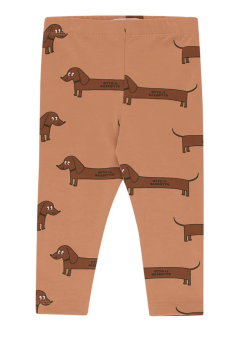 """IL BASSOTTO"" PANT tan/dark brown"