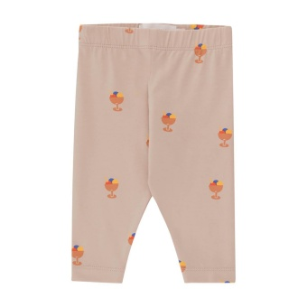 ICE CREAM CUP BABY PANT dusty pink/papaya