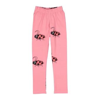 Leggings - Pink Ladybug