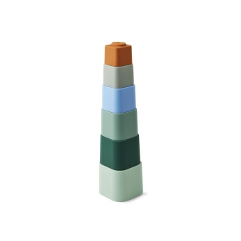 Zuzu Stacking Cups Blue mix