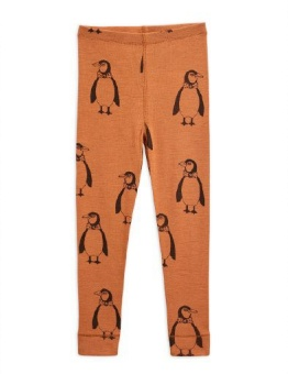 Penguin wool leggings brown