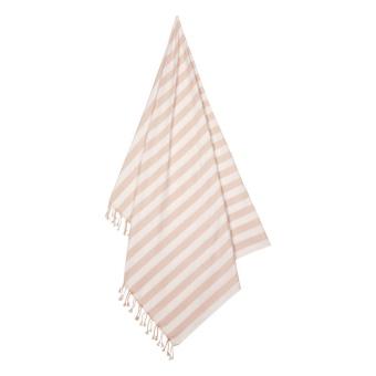 Mona beach towel Sorbet rose/creme de la creme