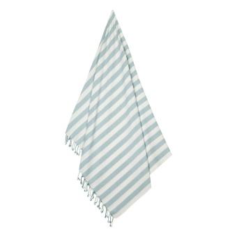 Mona beach towelSea blue/creme de la creme