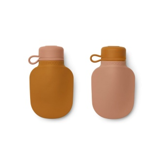 Silvia smoothie bottle 2-pack Apple red/tuscany rose mix