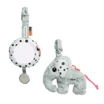 Vagnleksak To Go Activity Set Grey
