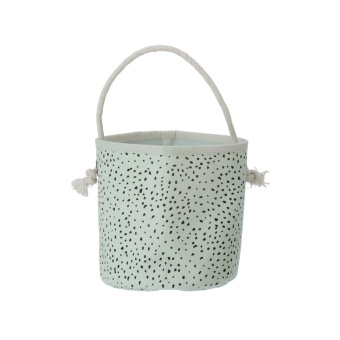 Mint Dot Basket - Mini