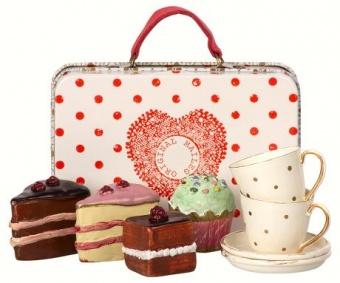Maileg - Resväska med fika för två