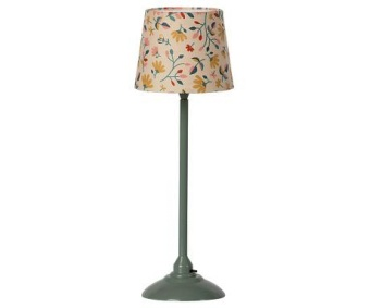 MINIATURE FLOOR LAMP - DARK  MINT