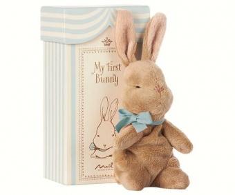 Maileg - My Frist Bunny in Box, Blå