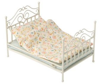 Maileg -Vintage Bed Micro - Soft Sand