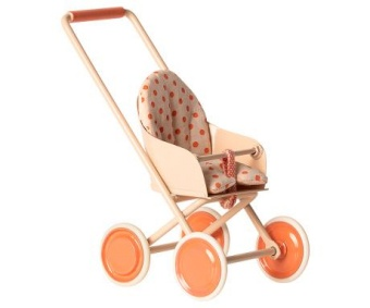 Maileg - Stroller Micro Coral