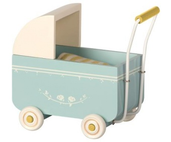 Barnvagn My liten blå